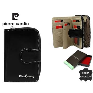 Portfel Skórzany Pierre Cardin 01-LINE-115 Black bez rabatowy