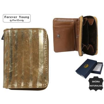 Portfel Damski Skórzany  5157-LN Gold