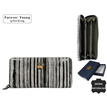 Portfel Damski Skórzany 77006-LN Black