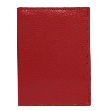 Skórzane Etui na dokumenty 508 Red