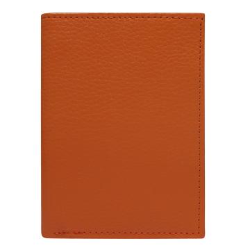 Skórzane Etui na dokumenty 508 Orange