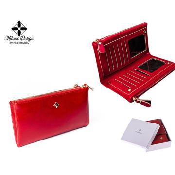 Portfel Damski PU SF-1843-ML Red