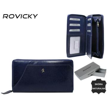 Portfel Damski Skórzany N410-RBA Blue