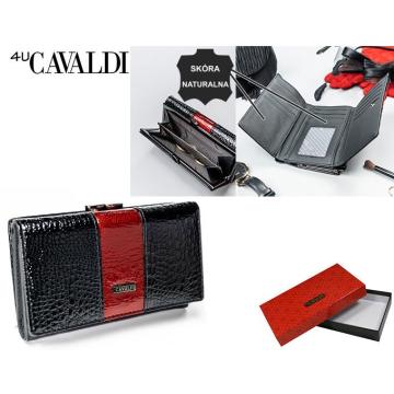Portfel Damski Skóra+PU PX23-1-DS Red