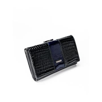 Portfel Damski Skóra+PU PX23-1-DS Blue