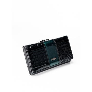 Portfel Damski Skóra+PU PX23-1-DS Green