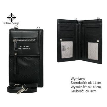Torebka-Portfel SF1861-YD Black