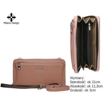 Torebka-Portfel SF1864-SWP Pink