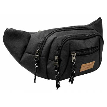 Saszetka na Pas BAG-WB-02 Black