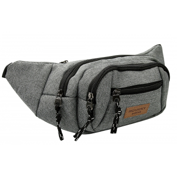 Saszetka na Pas BAG-WB-02 Grey
