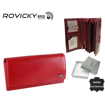 Portfel Damski Skórzany CPR-8756-BAR Red