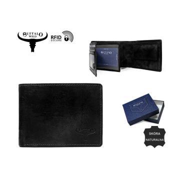 Portfel Męski Skórzany N992-CH-HP Black