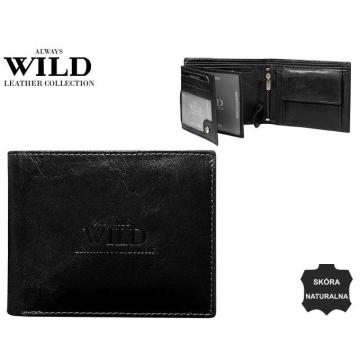 Portfel Męski Skórzany N992-GTC Black