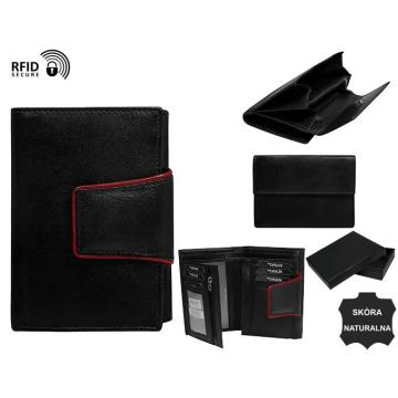 Portfel Damski Skórzany RD-03-GCL-NL Black