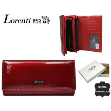 Portfel Damski Skórzany 76111-SH-RFID RED